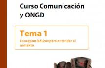 Curso de Comunicación y ONGD