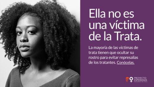 Ella no es una víctima de trata_ProyectoESPERANZA