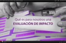 Video II Informe sobre Evaluación de impacto: Recuperando derechos Progresando en Dignidad